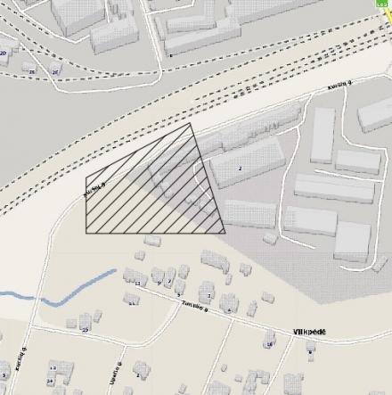 Sandėliavimo paskirties pastato (8.9) Kuršių g. 2, Vilniaus m. statybos projektas