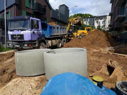 Pasirengimo statybai ir statybos darbų organizavimo dalys