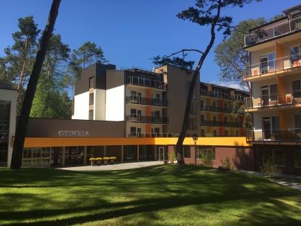 Gydymo paskirties sanatorinio komplekso statybos Algirdo g. 22, Birštone, projektas